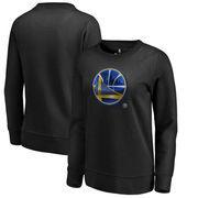 Golden State Warriors Fanatics Branded Women's Midnight Mascot Pullover Sweatshirt - Black