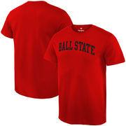 Ball State Cardinals Fanatics Branded Basic Arch Expansion T-Shirt - Cardinal
