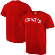 New Mexico Lobos Fanatics Branded Basic Arch Expansion T-Shirt - Red