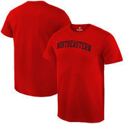 Northeastern Huskies Fanatics Branded Basic Arch Expansion T-Shirt - Red