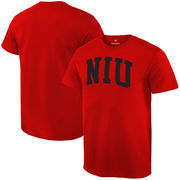 Northern Illinois Huskies Fanatics Branded Basic Arch Expansion T-Shirt - Cardinal