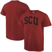 Santa Clara Broncos Fanatics Branded Basic Arch Expansion T-Shirt - Cardinal