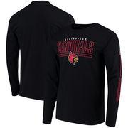 Louisville Cardinals Fanatics Branded Front Line Long Sleeve T-Shirt - Black