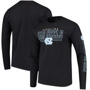 North Carolina Tar Heels Fanatics Branded Front Line Long Sleeve T-Shirt - Black