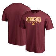 Minnesota Golden Gophers Fanatics Branded True Sport Football Big and Tall T-Shirt - Maroon