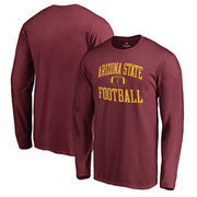 Arizona State Sun Devils Fanatics Branded Neutral Zone Long Sleeve T-Shirt - Maroon