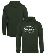 New York Jets NFL Pro Line by Fanatics Branded Youth Splatter Logo Pullover Hoodie - Green