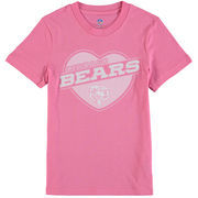 Chicago Bears Girls Youth Love It T-Shirt - Pink