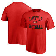 Louisville Cardinals Fanatics Branded Youth Neutral Zone T-Shirt - Red
