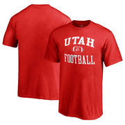 Utah Utes Fanatics Branded Youth Neutral Zone T-Shirt - Red