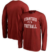 Stanford Cardinal Fanatics Branded Youth Neutral Zone Long Sleeve T-Shirt - Cardinal