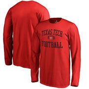 Texas Tech Red Raiders Fanatics Branded Youth Neutral Zone Long Sleeve T-Shirt - Red