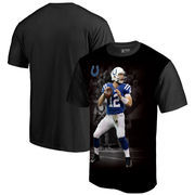 Andrew Luck Indianapolis Colts NFL Pro Line by Fanatics Branded NFL Player Sublimated Graphic T-Shirt – Black