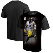 Le'Veon Bell Pittsburgh Steelers NFL Pro Line by Fanatics Branded NFL Player Sublimated Graphic T-Shirt – Black