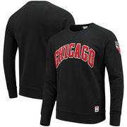 Chicago Bulls Levi's Crew Fleece Pullover Sweatshirt - Black