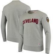 Cleveland Cavaliers Levi's Crew Fleece Pullover Sweatshirt - Gray