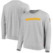 Golden State Warriors Levi's Crew Fleece Pullover Sweatshirt - Gray