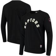 Toronto Raptors Levi's Crew Fleece Pullover Sweatshirt - Black
