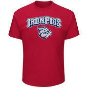 Lehigh Valley IronPigs Majestic Youth Baseball T-Shirt - Red