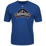 Aberdeen IronBirds Majestic Youth Cool Base Evolution T-Shirt - Royal