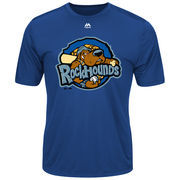 Midland Rockhounds Majestic Youth Cool Base Evolution T-Shirt - Royal