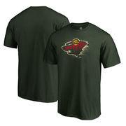 Minnesota Wild Fanatics Branded Splatter Logo Big and Tall T-Shirt - Green