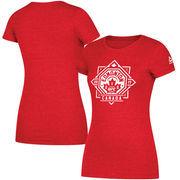 Reebok Women's UFC 215 Official Weigh-In T-Shirt - Heather Red