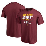 Arizona State Sun Devils Fanatics Branded Against The World Big and Tall T-Shirt - Garnet