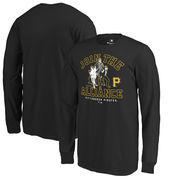 Pittsburgh Pirates Fanatics Branded Youth MLB Star Wars Join The Alliance Long Sleeve T-Shirt – Black