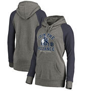 San Diego Padres Fanatics Branded Women's MLB Star Wars Join The Alliance Tri-Blend Hoodie – Heather Gray