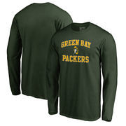 Green Bay Packers NFL Pro Line by Fanatics Branded Vintage Collection Victory Arch Long Sleeve T-Shirt - Green