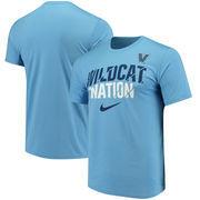 Villanova Wildcats Nike Nation Legend Performance T-Shirt - Light Blue
