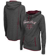 Texas A&M Aggies Colosseum Women's Buggin Pullover Hoodie - Heathered Charcoal