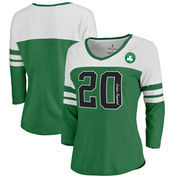 Gordon Hayward Boston Celtics Fanatics Branded Women's Starstruck Name & Number Tri-Blend 3/4-Sleeve Raglan V-Neck T-Shirt - Kel