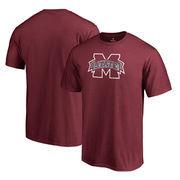 Mississippi State Bulldogs Fanatics Branded Static Logo T-Shirt - Garnet