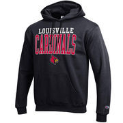 Louisville Cardinals Champion Core Powerblend Hoodie - Black