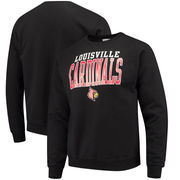 Louisville Cardinals Champion Core Powerblend Crewneck Sweatshirt - Black