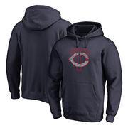 Minnesota Twins Fanatics Branded Static Logo Pullover Hoodie - Navy