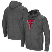 Texas Tech Red Raiders Colosseum Big Logo Pullover Hoodie - Charcoal