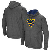 West Virginia Mountaineers Colosseum Big Logo Pullover Hoodie - Charcoal