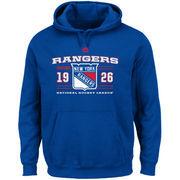 New York Rangers Majestic Winning Boost Pullover Hoodie - Blue