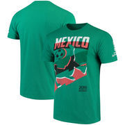 Mexico National Team Jagged Line T-Shirt – Heathered Kelly Green