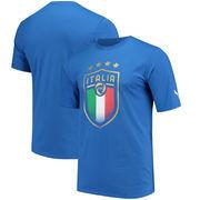 Italy National Team Puma Badge Logo T-Shirt – Blue