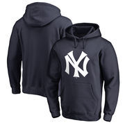 New York Yankees Fanatics Branded Cooperstown Collection Huntington Pullover Hoodie - Navy
