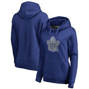 Toronto Maple Leafs Fanatics Branded Women's Static Logo Pullover Hoodie - Royal