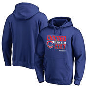 Chicago Cubs Fanatics Branded 2017 Postseason Double Play Pullover Hoodie – Royal