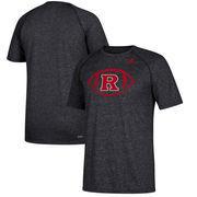 Rutgers Scarlet Knights adidas Sideline Pigskin Ultimate T-Shirt – Heathered Black