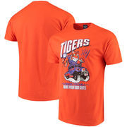 Clemson Tigers Fanatics Branded BYOG Mascot T-Shirt - Orange
