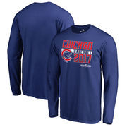 Chicago Cubs Fanatics Branded 2017 Postseason Double Play Long Sleeve T-Shirt – Royal