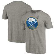Buffalo Sabres Fanatics Branded 2018 NHL Winter Classic Vintage Tri-Blend T-Shirt - Gray